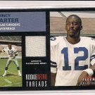 QUINCY CARTER COWBOYS 2001 FLEER ROOKIE RETRO THREADS
