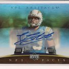 LUIS CASTILLO CHARGERS 2007 UD ARTIFACTS AUTO