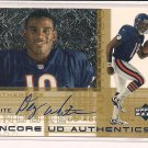 DEZ WHITE BEARS 2000 UD ENCORE AUTHENTICS AUTO