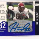 JAMES HARDY 2008 HIT AUTHENTIC AUTOGRAPH