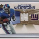 TIKI BARBER GIANTS 2006 SPX WINNING MATERIALS JERSEY