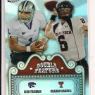 JOSH FREEMAN-GRAHAM HARRELL 2009 PRESSPASS DOUBLE FEATURE