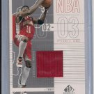 JASON TERRY HAWKS 2002-03 UD SP GAME USED JERSEY