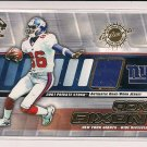 RON DIXON GIANTS 2001 PRIVATE STOCK JERSEY CARD