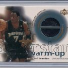 TERRELL BRANDON TIMBERWOLVES 2001 UD SUPERSTAR WAM-UP