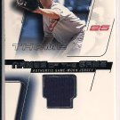 JIM THOME INDIANS 2002 FLEER NAMES OF THE GAME JERSEY