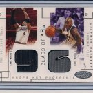 IVERSON/MARBURY 2002-03 HOOPS CLASS OF 96 DUAL JERSEY