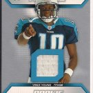 VINCE YOUNG TITANS 2006 UD ROOKIE FUTURES JERSEY