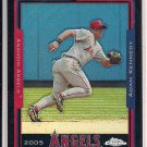 ADAM KENNEDY ANGELS 2005 CHROME BLACK REFRACTOR #'D 143/225!
