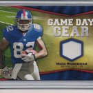 MARIO MANNINGHAM GIANTS 2009 UD GAME DAY GEAR JERSEY CARD