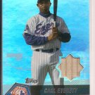 CARL EVERETT 2004 TOPPS CLUBHOUSE RELICS BAT