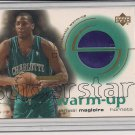 JAMAAL MAGLOIRE HORNETS 2001-02 UD SUPERSTAR WARM-UP