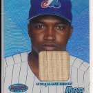RON CALLOWAY EXPOS 2002 BOWMAN'S BEST GAME USED BAT