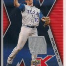 MICHAEL YOUNG RANGERS 2009 UD X JERSEY