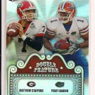 MATTHEW STAFFORD/PERCY HARVIN 2009 PRESSPASS DOUBLE FEATURE