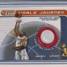 RODNEY BUFORD 76ERS 2001-02 TOPPS TCC NBA FINALS JERSEY