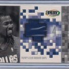 MICHAEL FINLEY MAVERICKS 2002 UD PLAYMAKERS SHIRT