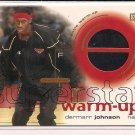 DERMARR JOHNSON HAWKS 2001 UD SUPERSTAR WARM-UP