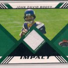 JOHN DAVID BOOTY VIKINGS 2008 TOPPS STADIUM CLUB RELIC JERSEY