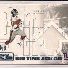 IKE HILLIARD GIANTS 2002 UD XL BIG TIME JERSEY CARD