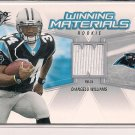 DEANGELO WILLIAMS PANTHERS 2006 SPX ROOKIE JERSEY