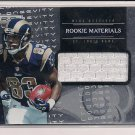 BRIAN QUICK RAMS 2012 R&S ROOKIE MATERIALS JERSEY