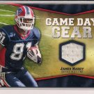 JAMES HARDY BILLS 2009 UD GAME DAY GEAR JERSEY