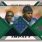 KEVIN WILLIAMS VIKINGS 2008 STADIUM CLUB IMPACT JERSEY