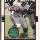 RICKY WILLIAMS DOLPHINS 2002 TITANIUM JERSEY CARD