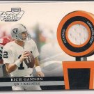 RICH GANNON RAIDERS 2002 PLAYOFF PIECE OF THE GAME JERSEY