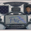 PAUL WILLIAMS TITANS 2007 BOWMAN STERLING RC JERSEY/AUTO