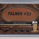 JIM PALMER ORIOLES 2011 TOPPS LEATHER NAMEPLATE