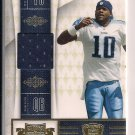 VINCE YOUNG TITANS 2010 PLATES & PATCHES JERSEY