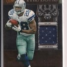 FELIX JONES COWBOYS 2011 CROWN ROYALE THE ZONE JERSEY CARD