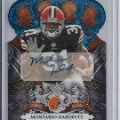 MONTARIO HARDESTY BROWNS 2010 CROWN ROYALE RC SP AUTO #'D 07/50!