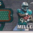 LAMAR MILLER DOLPHINS 2012 TOPPS CHROME RC JERSEY
