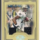 MARQUES COLSTON SAINTS 2008 THREADS GRIDIRON KINGS DUAL JSY