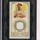 VERNON WELLS ANGELS 2012 ALLEN & GINTER'S JERSEY CARD