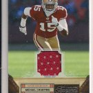 MICHAEL CRABTREE 49ERS 2011 TIMELESS TREASURE JERSEY
