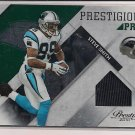 STEVE SMITH PANTHERS 2010 PRESTIGE JERSEY #'D 59/100!