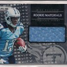 KENDALL WRIGHT TITANS 2012 R&S ROOKIE MATERIALS JERSEY