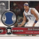 DREW GOODEN CAVALIERS 2004-05 UD RTIFACTS WARM-UP
