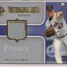 TOM GLAVINE METS 2007 UD ULTIMATE STAR MATERIALS JERSEY