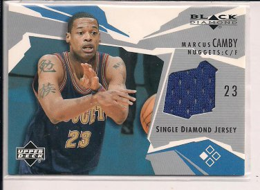 MARCUS CAMBY NUGGETS 2003 BLACK DIAMOND JERSEY