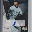 KEI IGAWA YANKEES 2007 EXQUISITE ROOKIE SIGNATURES AUTO #'D 7/150!
