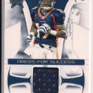 EDDIE ROYAL BRONCOS 2008 LEAF R&S ROOKIE JERSEY