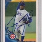JAY JACKSON CUBS 2010 TOPPS DEBUT AUTO