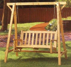 Garden Chair Swing