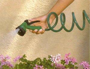 Self-Coiling Garden Hose