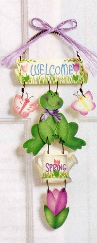 Frog Spring Wall Sign.